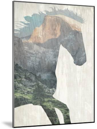 Running Mountains-Kimberly Allen-Mounted Art Print