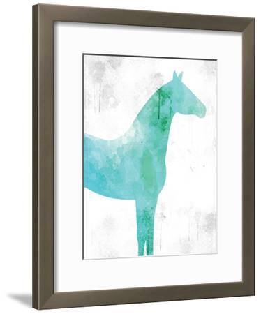 Watercolor Silhouette 5-Kimberly Allen-Framed Art Print