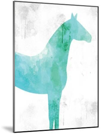 Watercolor Silhouette 5-Kimberly Allen-Mounted Art Print