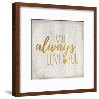 Always Love 1-Kimberly Allen-Framed Art Print