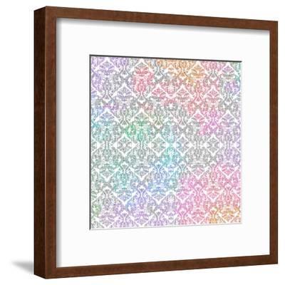 Watercolor Travel Pattern-Kimberly Allen-Framed Art Print