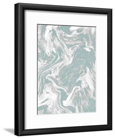 Sparkle Marble 2-Kimberly Allen-Framed Art Print