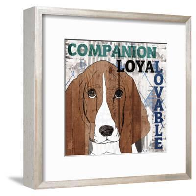 Companion 1-Kimberly Allen-Framed Art Print