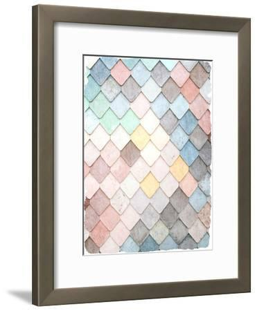 Tiled 2-Kimberly Allen-Framed Art Print