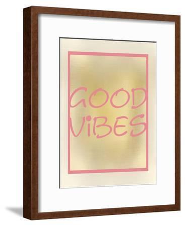 Good Vibes-Kimberly Allen-Framed Art Print