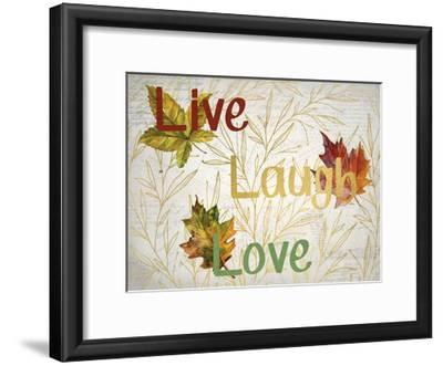 Sentimental Leaves-Kimberly Allen-Framed Art Print
