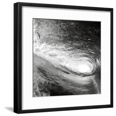 In the Wave-Kimberly Allen-Framed Art Print