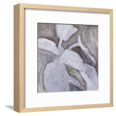 Sage Leaves 1-Kimberly Allen-Framed Art Print