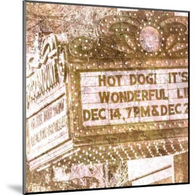 Marquee 3-Kimberly Allen-Mounted Art Print