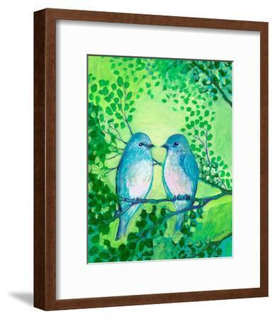A Day Together-Jennifer Lommers-Framed Art Print