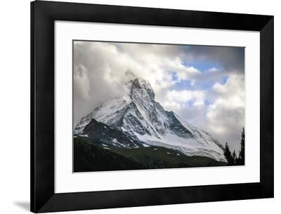 Zermatt, Switzerland-Berthold Dieckfoss-Framed Giclee Print