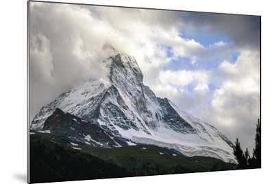 Zermatt, Switzerland-Berthold Dieckfoss-Mounted Giclee Print