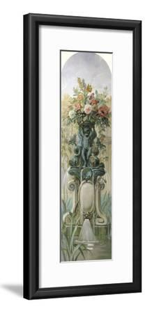 Scenic Panel II-Pierre-Victor Galland-Framed Giclee Print