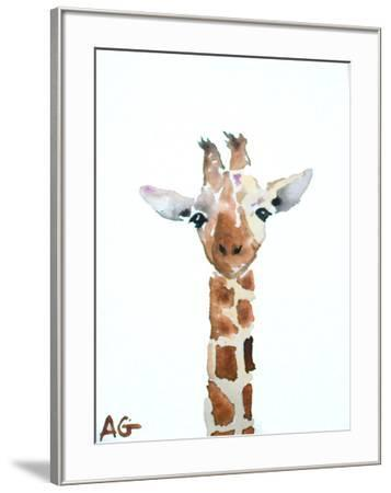Giraffe-Allison Gray-Framed Art Print