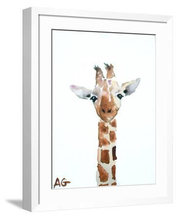 Giraffe-Allison Gray-Framed Art Print