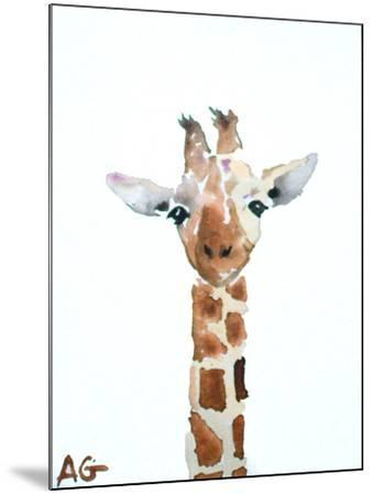 Giraffe-Allison Gray-Mounted Art Print