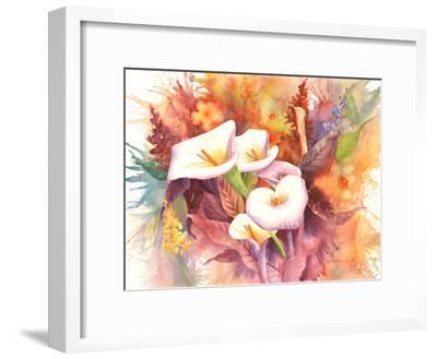 Calla Dance-Sunshine Taylor-Framed Art Print