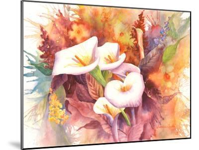 Calla Dance-Sunshine Taylor-Mounted Art Print