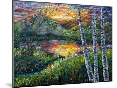 Sleeping Meadow-Olena Art-Mounted Art Print