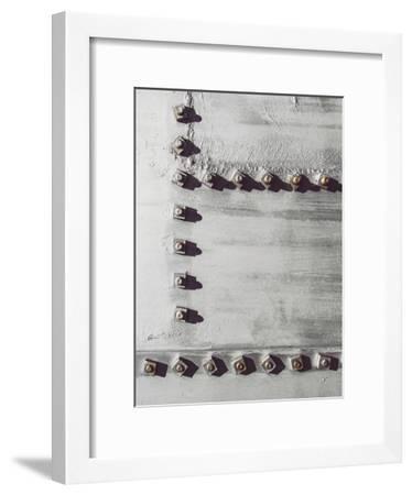 Rivets No 3-Annie Bailey-Framed Art Print
