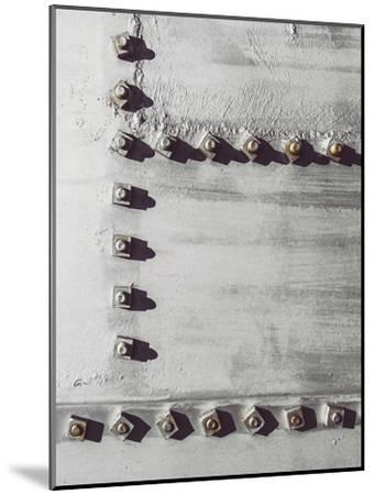 Rivets No 3-Annie Bailey-Mounted Art Print