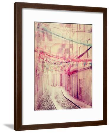 Street Party-Ingrid Beddoes-Framed Art Print
