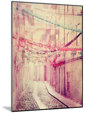 Street Party-Ingrid Beddoes-Mounted Art Print