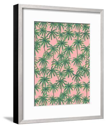 Palms Obsession-Emanuela Carratoni-Framed Art Print