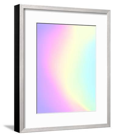 Holographic Texture-Emanuela Carratoni-Framed Art Print