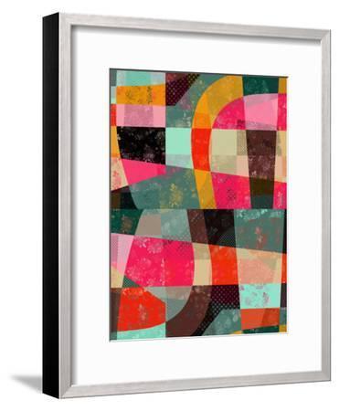 Fragments Xi-Susana Paz-Framed Art Print