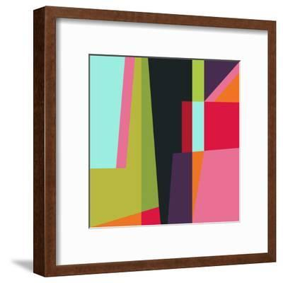 Geometric 28-Susana Paz-Framed Art Print