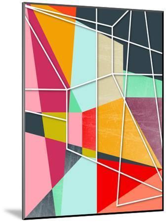 Colorblock V-Susana Paz-Mounted Art Print
