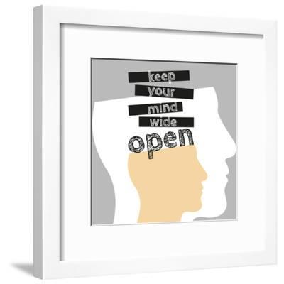 Open Mind-Susana Paz-Framed Art Print