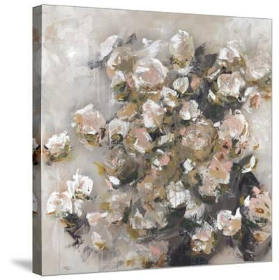 White Roses Were Her Favorite-Macy Cole-Stretched Canvas Print
