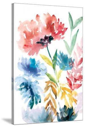 Lush Floral I-Rebecca Meyers-Stretched Canvas Print