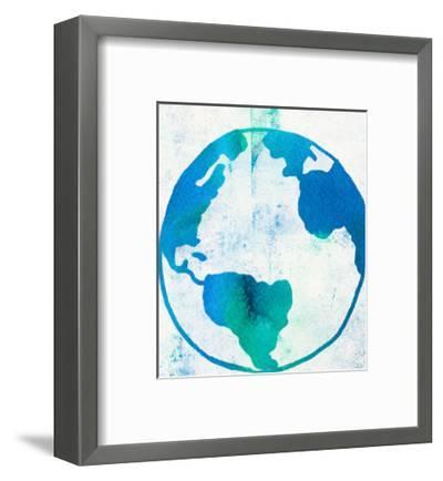 Earth Day-Leah Flores-Framed Art Print