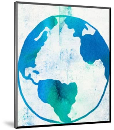 Earth Day-Leah Flores-Mounted Art Print