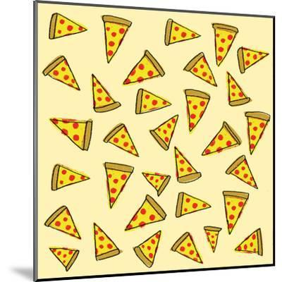 Pizza Party-Leah Flores-Mounted Art Print