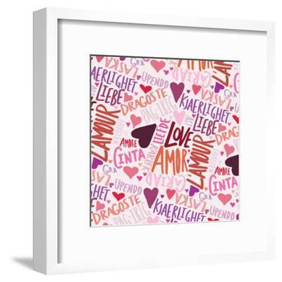 Love Languages-Leah Flores-Framed Art Print