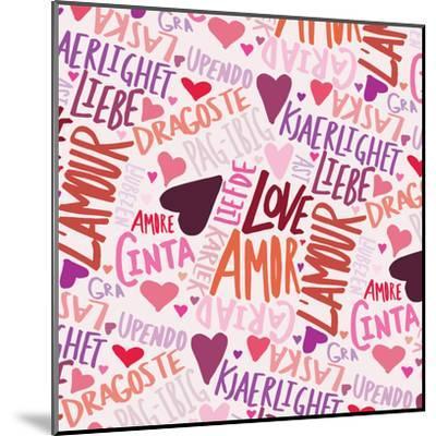 Love Languages-Leah Flores-Mounted Art Print