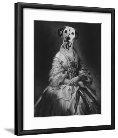 Film Noir - La Comtesse-Thierry Poncelet-Framed Giclee Print