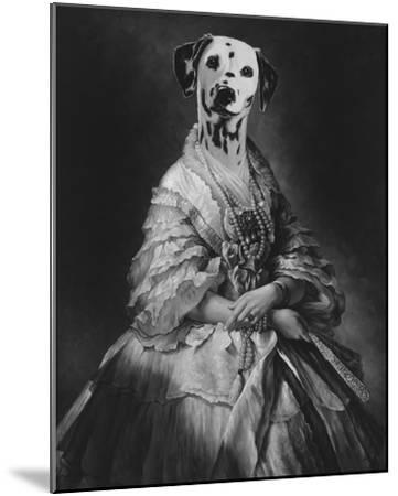Film Noir - La Comtesse-Thierry Poncelet-Mounted Giclee Print