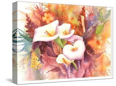 Calla Dance-Sunshine Taylor-Stretched Canvas Print