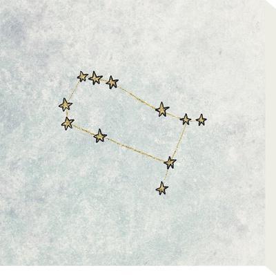 Gemini-Leah Flores-Stretched Canvas Print
