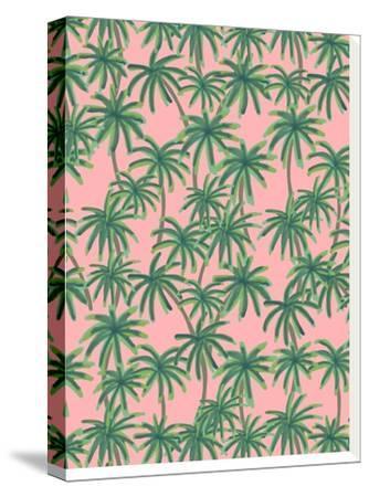 Palms Obsession-Emanuela Carratoni-Stretched Canvas Print