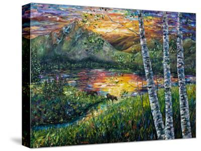 Sleeping Meadow-Olena Art-Stretched Canvas Print