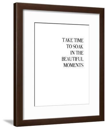 Little Beauty-Explicit Design-Framed Art Print