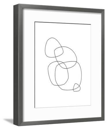 Minimalist-Explicit Design-Framed Art Print