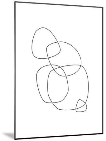 Minimalist-Explicit Design-Mounted Art Print