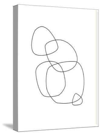 Minimalist-Explicit Design-Stretched Canvas Print